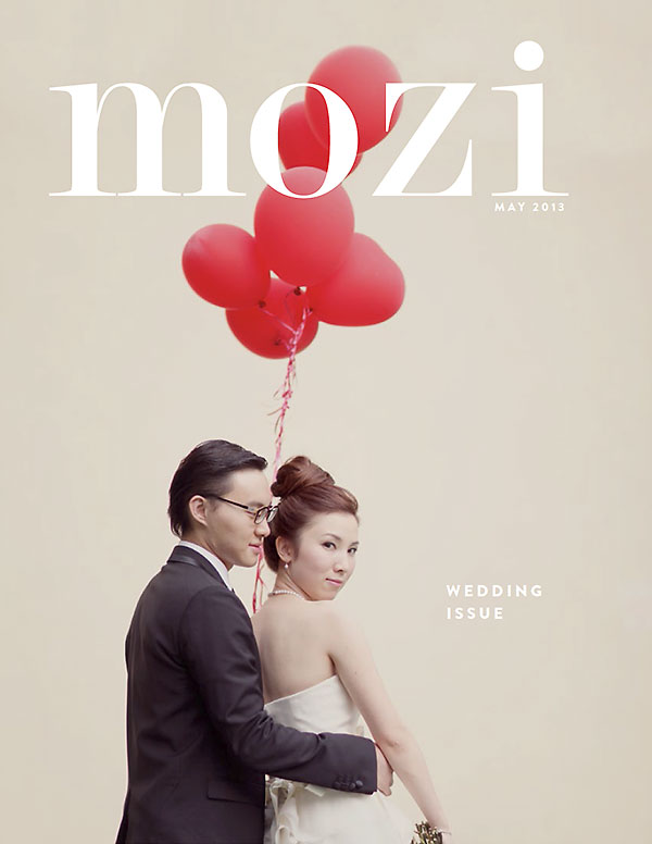 Mizi magazine wedding issue